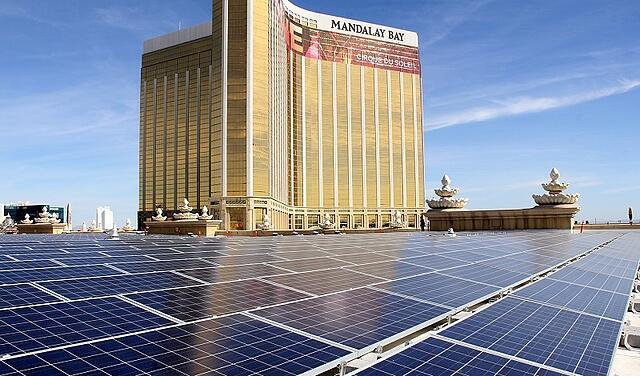 MGM Resorts Solar Array in Las Vegas
