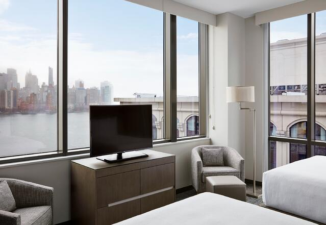 Stonehill Taylor design at Hyatt House Jersey City