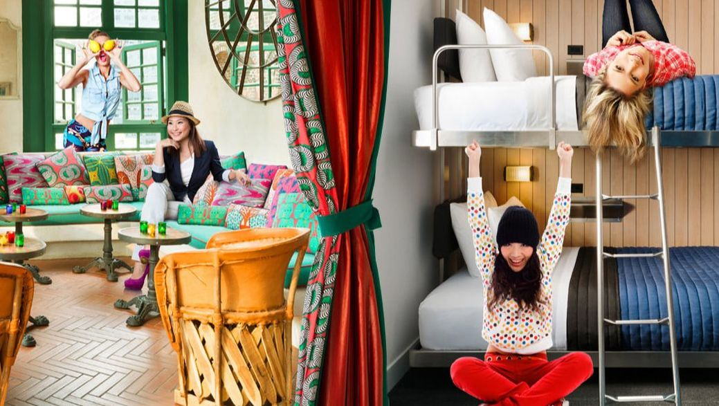 Pod Hotel's concept is all about great public spaces, very good restaurants and inexpensive rooms.